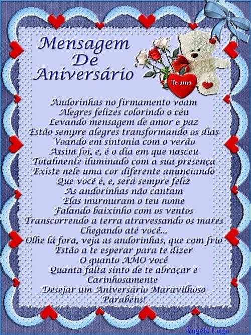 MENSAGEM DE ANIVERSÁRIO 2