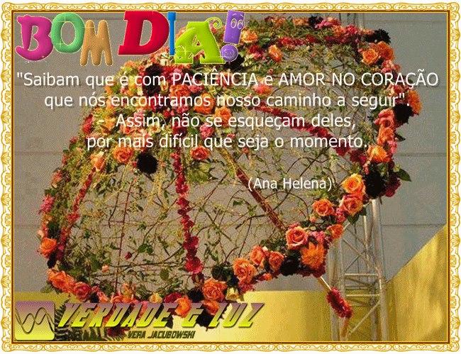 Bom Dia Luz Do Dia: BOM DIA CHEIO DE PAZ