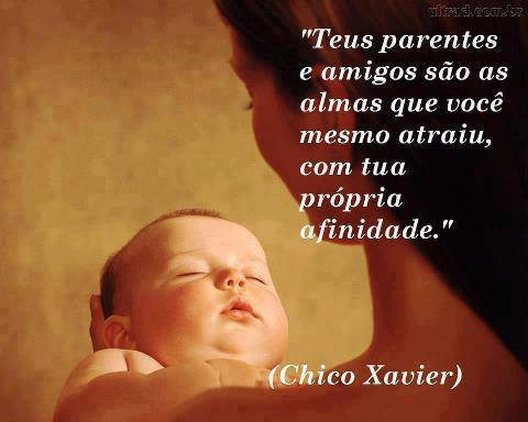PARENTES AMIGOS CHICO XAVIER