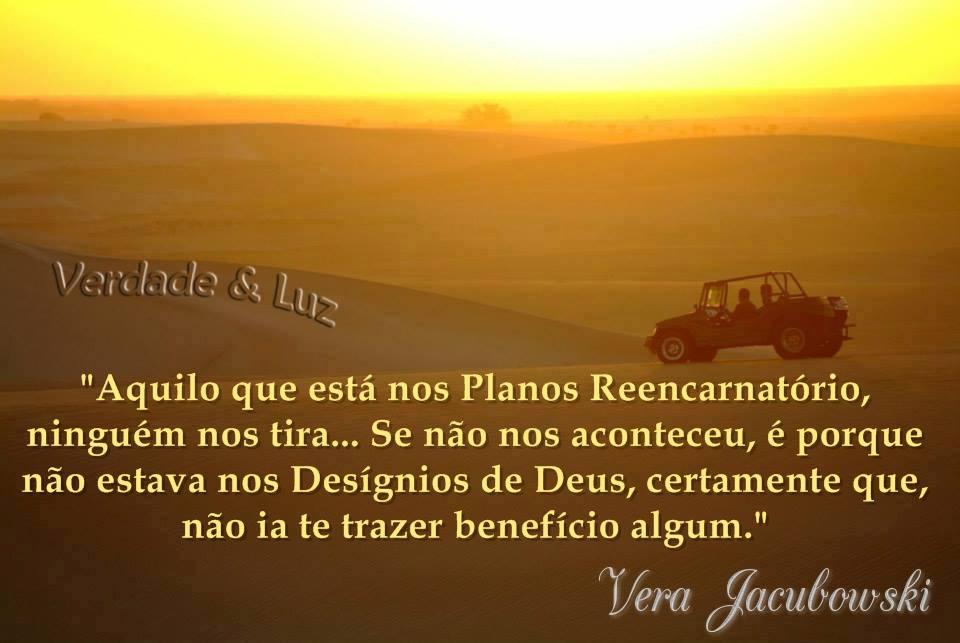 BENEFÍCIOS REENCARNATÓRIOS VERA JACUBOWSKI