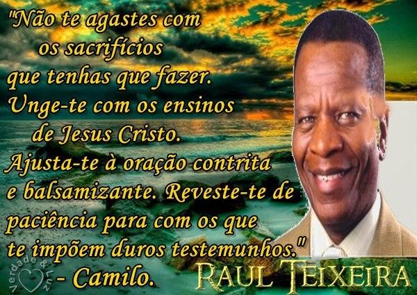 TESTEMUNHOS RAUL TEIXEIRA