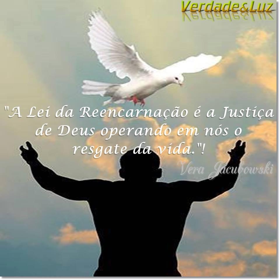 LEIDA REENCARNAÇÃO E JUSTIÇA VERA JACUBOWSKI