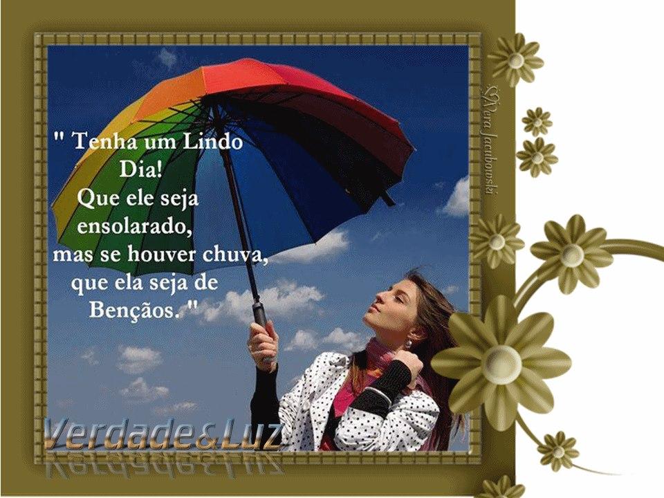 Bom Dia Cheio De Paz Verdade Luz
