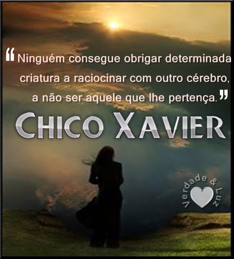 CRIATURA CHICO XAVIER