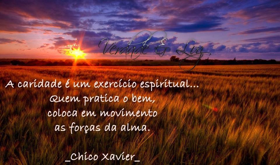 exercício espiritual chico xavier