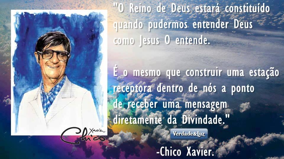 divindade CHICO XAVIER