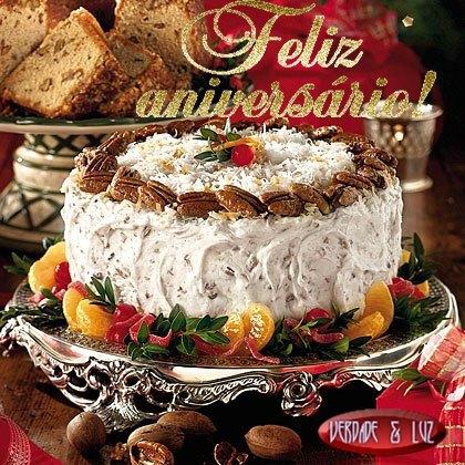 feliz aniversário bolo