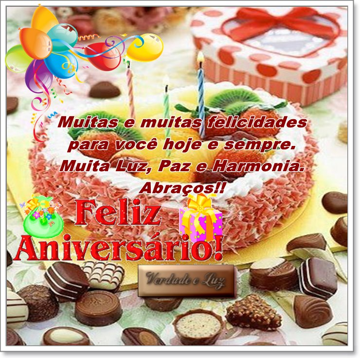 felicidades aniversário 29