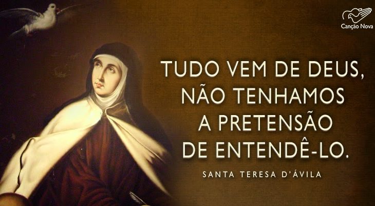HOMENAGEM Ma.TERESA D'ÁVILA