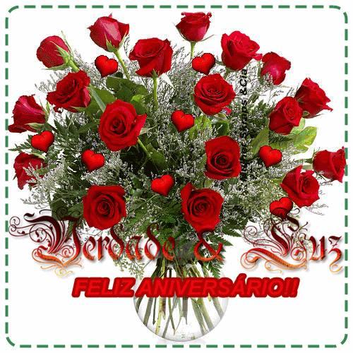 rosas vermelhas aniversário