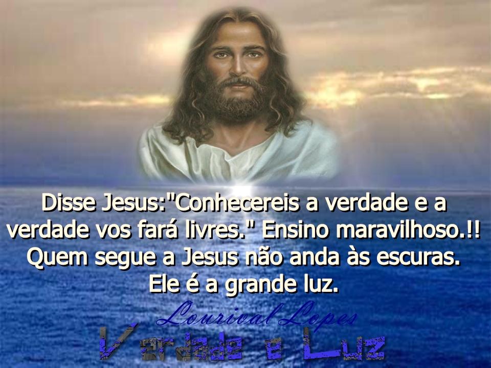 CONHECEREIS A VERDADE JESUS