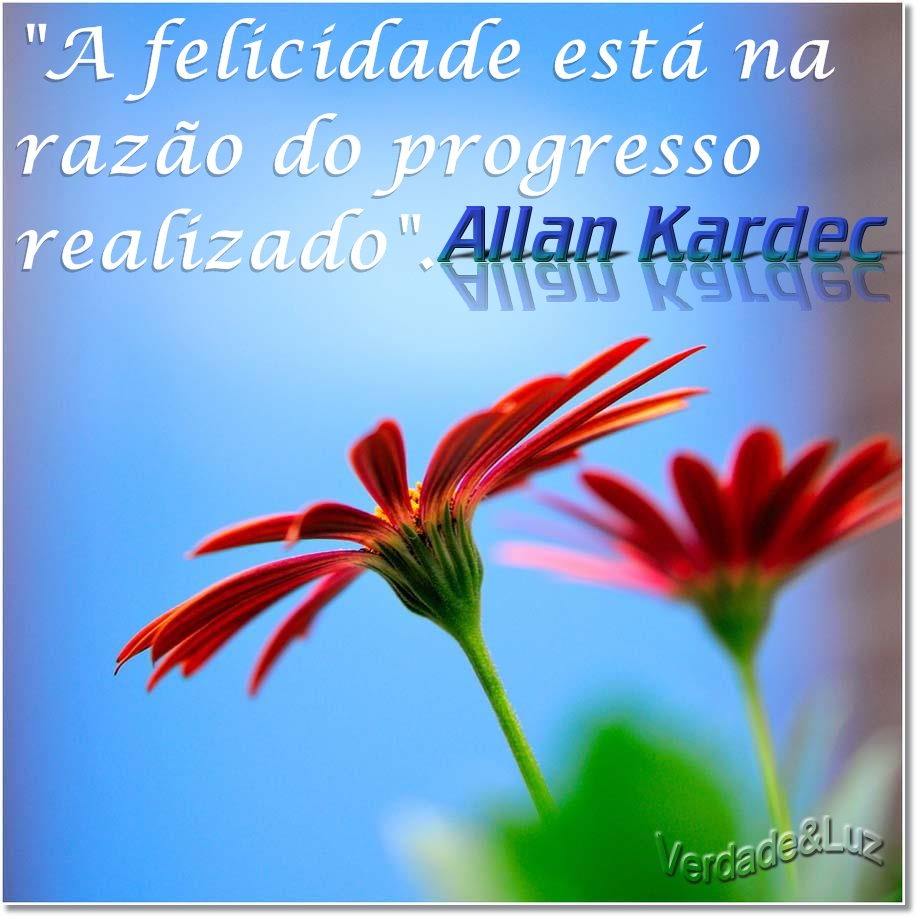 felicidade allan kardec