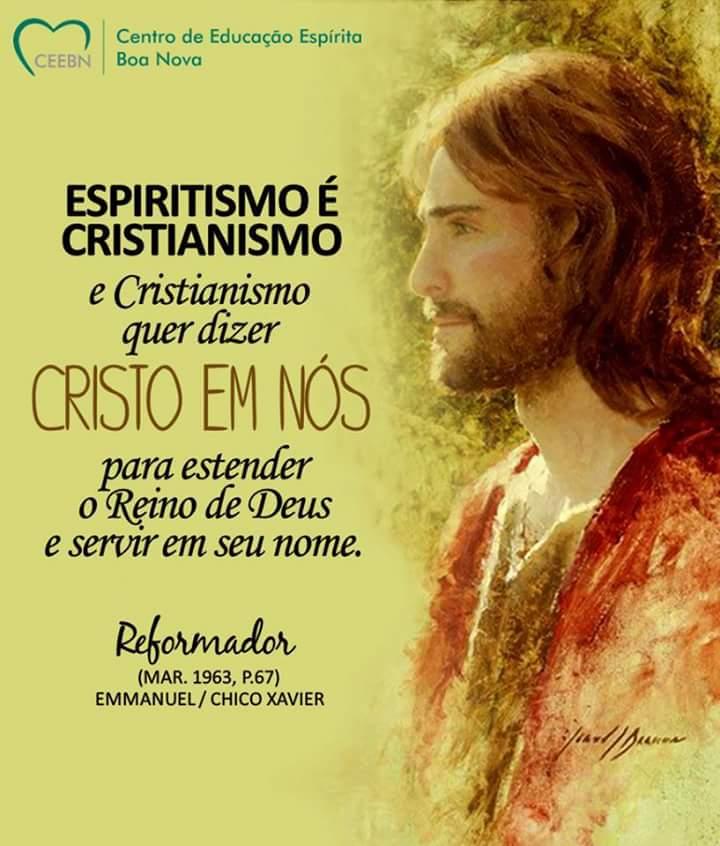 ESPIRITISMO É CRISTIANISMO