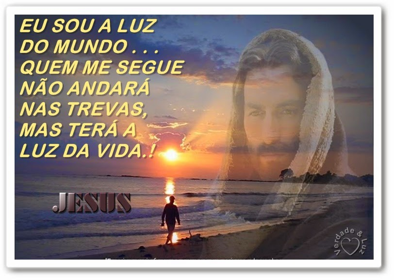 LUZ DO MUNDO JESUS