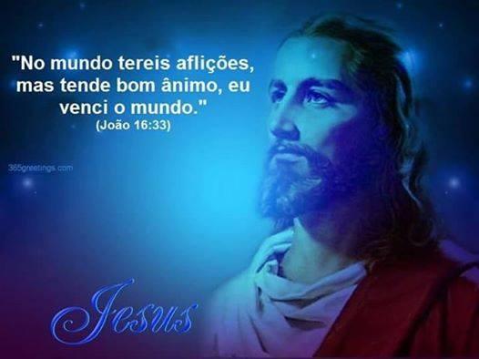 bom ânimo jesus
