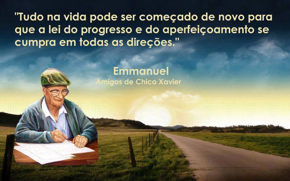 CUMPRIMENTO CHICO XAVIER