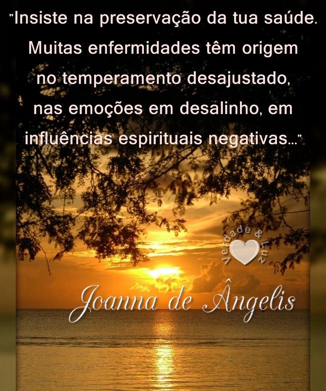 saúde joanna de ângelis