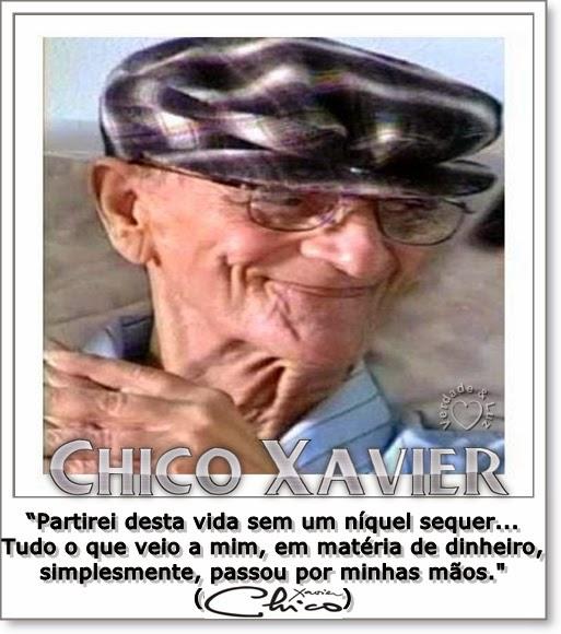 DINHEIRO CHICO XAVIER