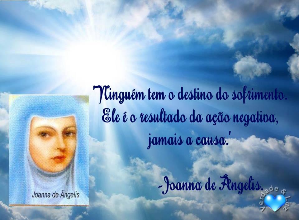 sofrimento joanna de ângelis
