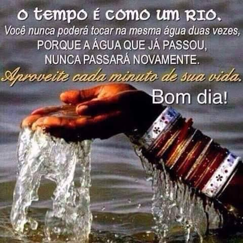TEMPO COMO UM RIO