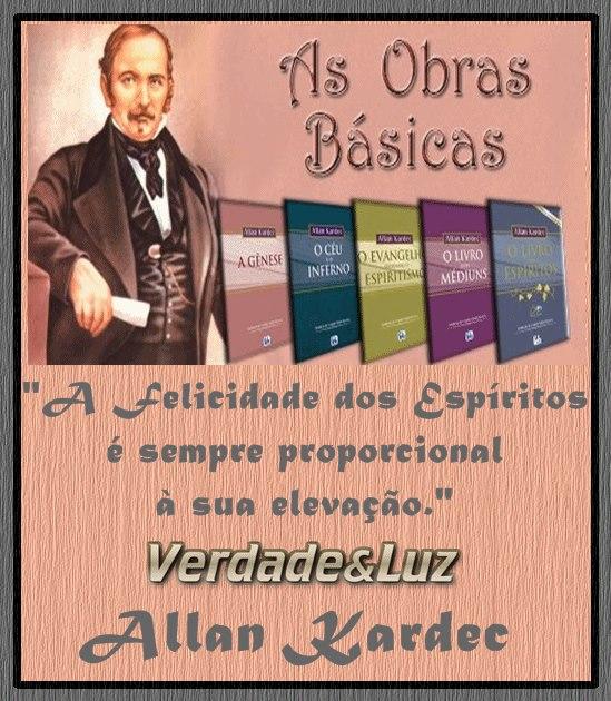 FELICIDADE DOS ESPÍRITOS ALLAN KARDEC