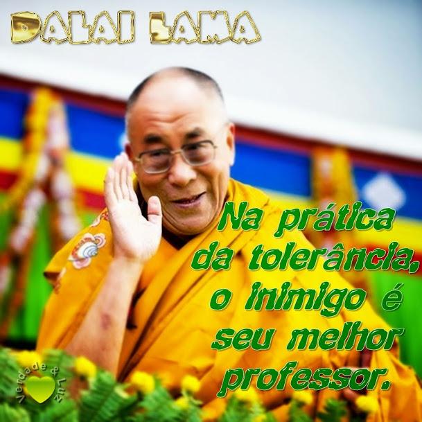 tolerância dalai lama
