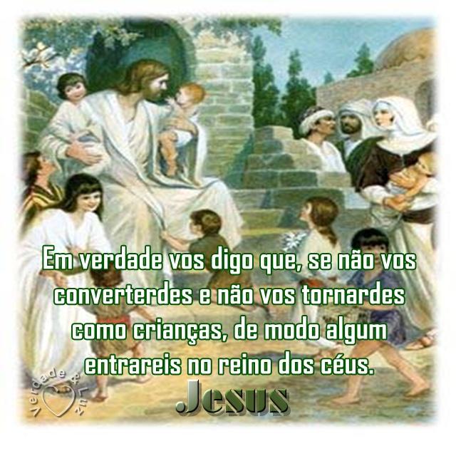 CRIANÇAS E JESUS