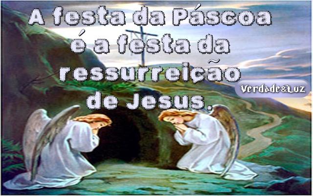 A Festa da Páscoa é a Festa