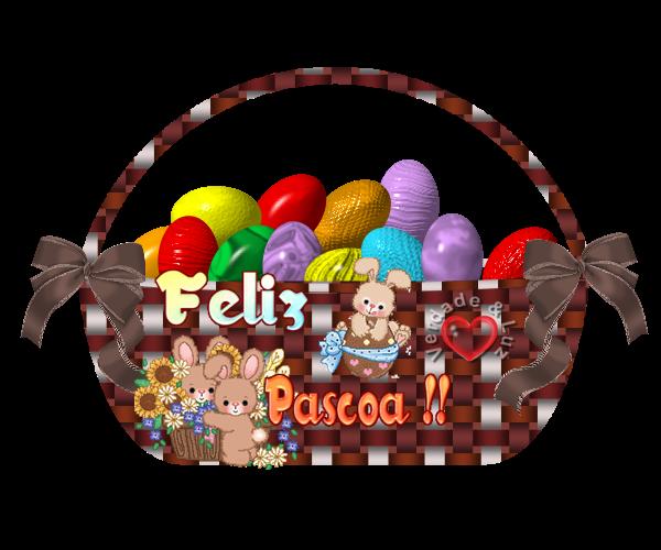 CESTA DE PÁSCOA