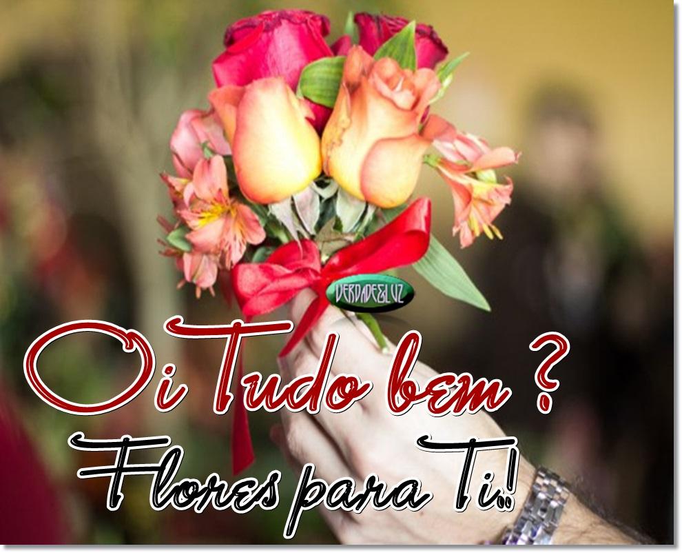Oi Tudo bem Eu Trouxe Flores para Ti