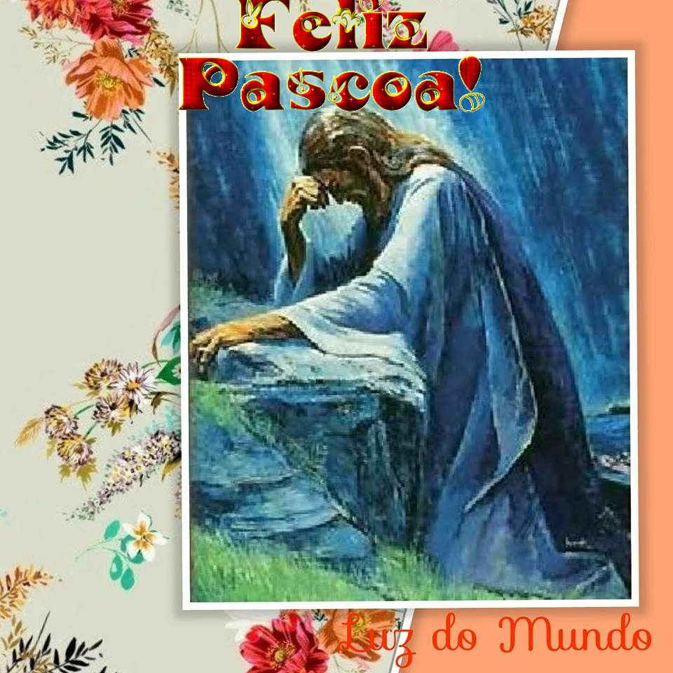 PÁSCOA COM JESUS