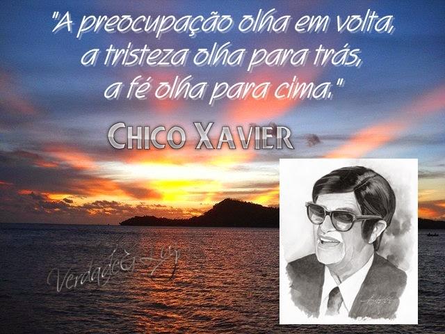 PREOCUPAÇÃO A TRISTEZA CHICO XAVIER