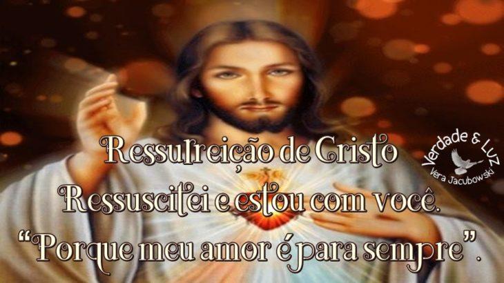 Ressurreição de Cristo Ressuscitei e estou com você