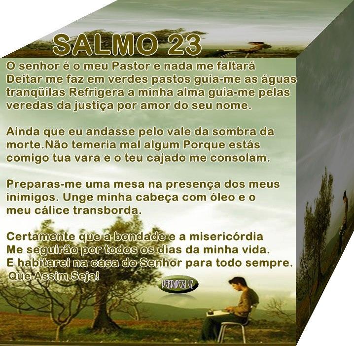 Salmo 23 - O SENHOR É O MEU PASTOR