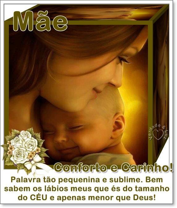 MÃE CONFORTO E CARINHO