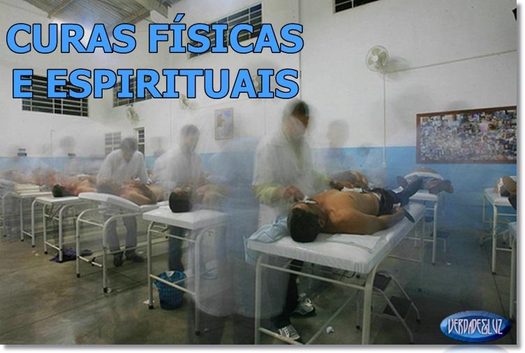 curas físicas e espirituais