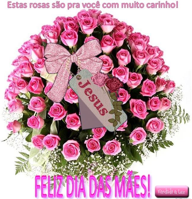 mães rosas para você
