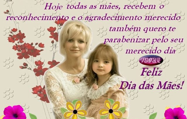 mãe especial dia das mães