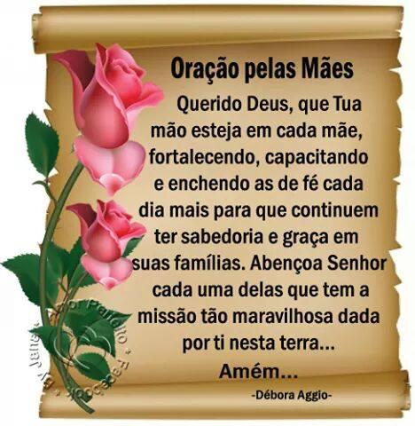 oração mãe