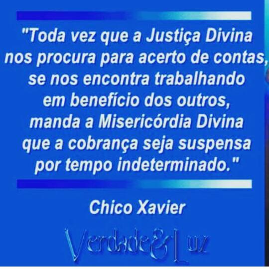 justiça divina chico xavier