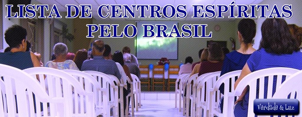 centros espírita pelo brasil
