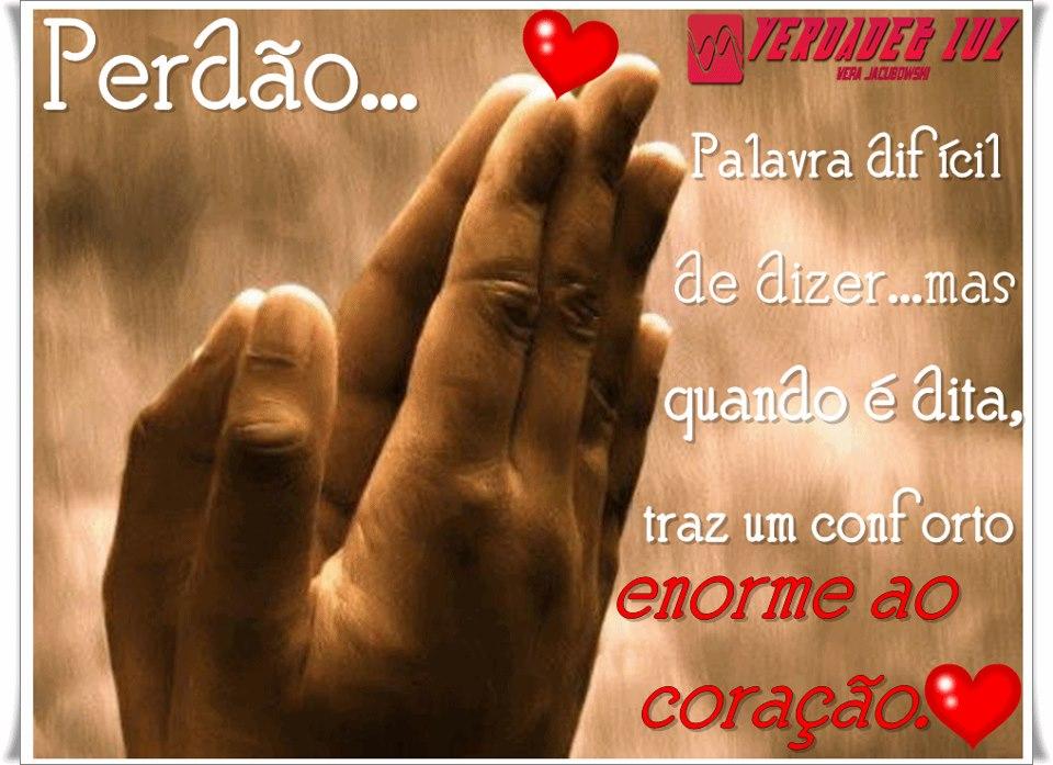 perdão conforto ao coração