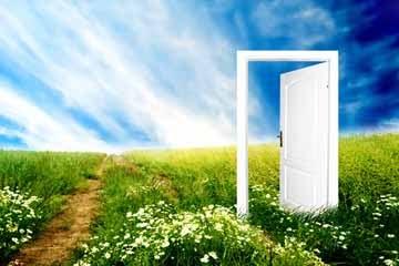 a porta da vida