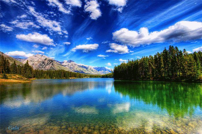 lago maravilhoso