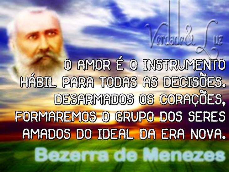 O AMOR BEZERRA DE MENEZES
