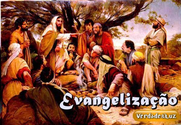 evangelizar e jesus