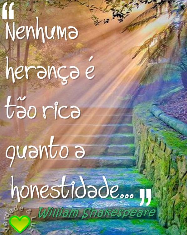 HERANÇA HONESTIDADE