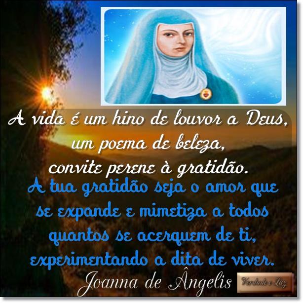 gratidão joanna de ângelis