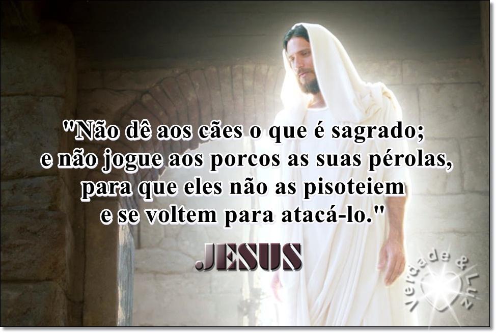 pérolas jesus