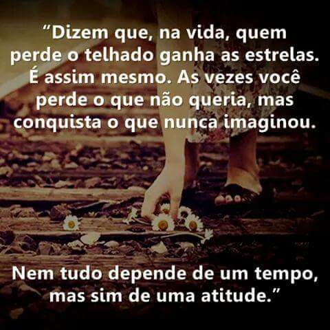 tempo e atitude